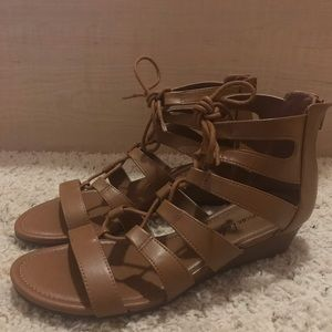 64e34b49db908 American Eagle By Payless. Gladiator Sandals